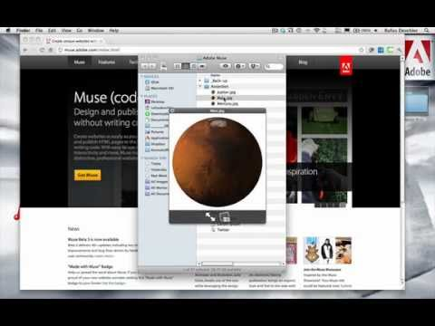 The Adobe Muse workflow