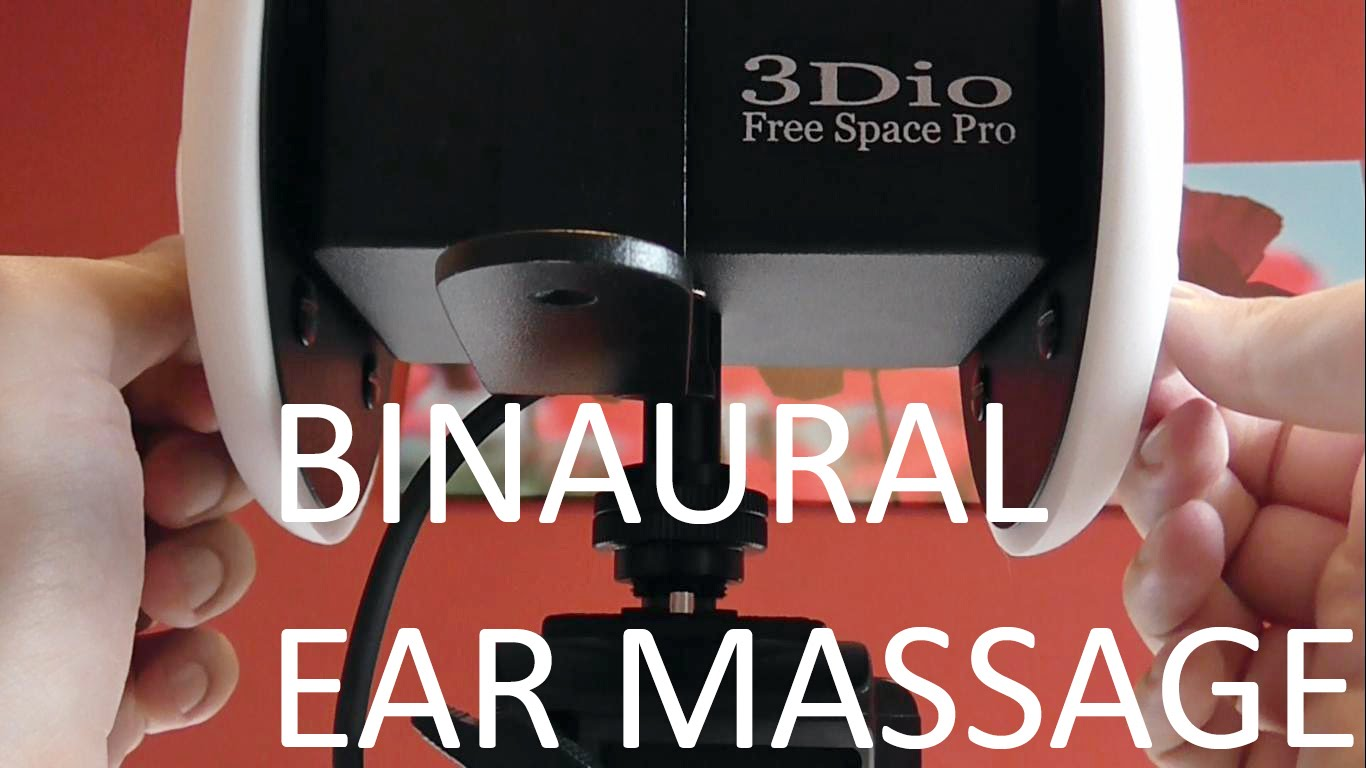 3Dio free space pro binaural ears massage