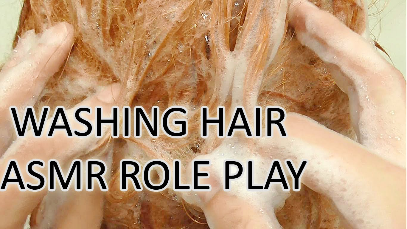 Role Play Head Massage and Hair Washing