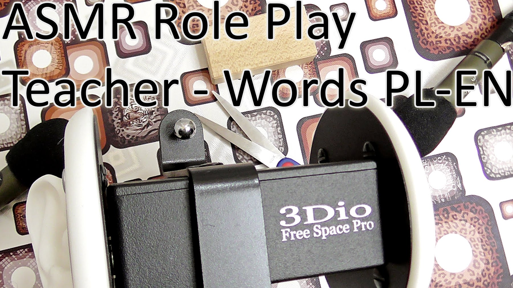 Teacher Role Play Things and Words