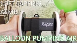 3Dio Binaural Whispers Balloon Pumping Air