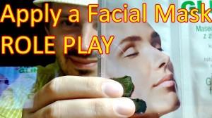 Binaural Facial Mask and Face Massage