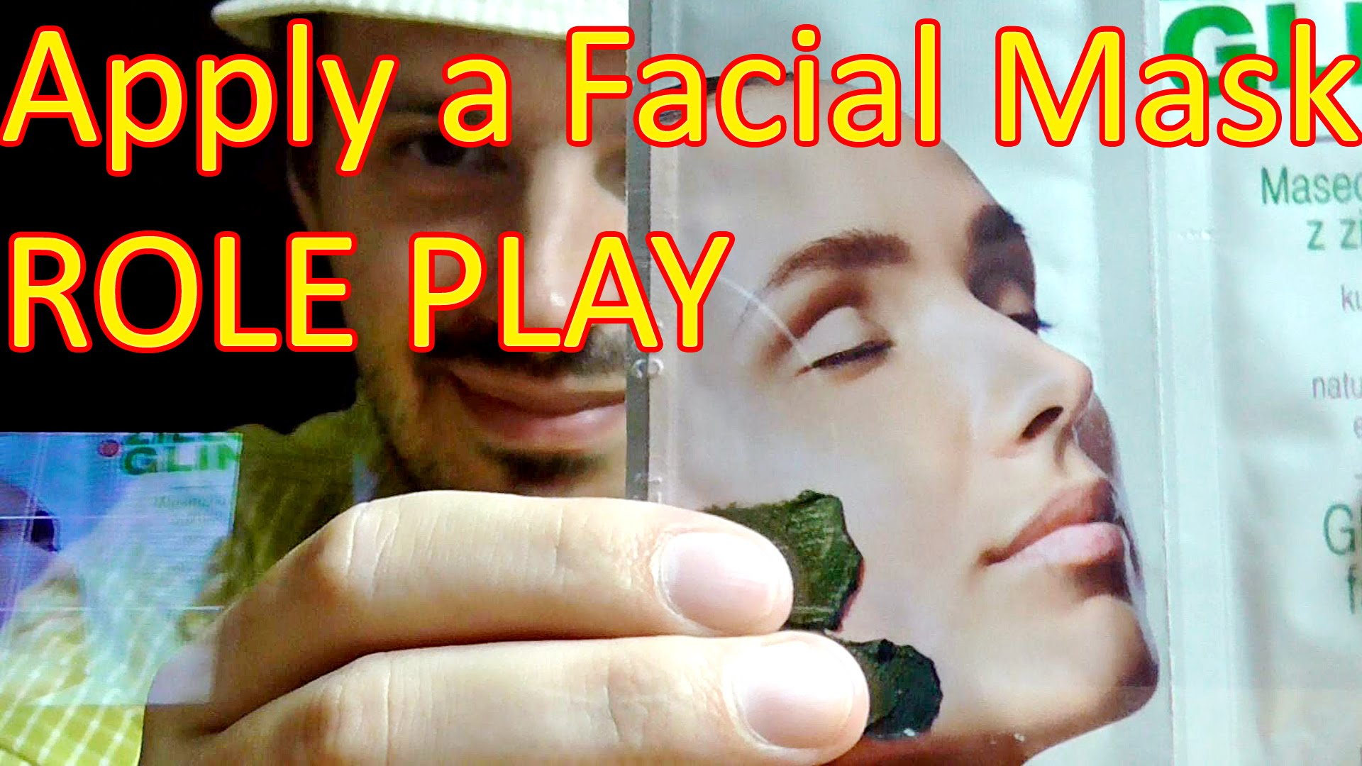Binaural Facial Mask and Face Massage