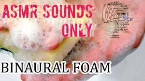 Binaural Foam Scratching Tapping Relaxing Session