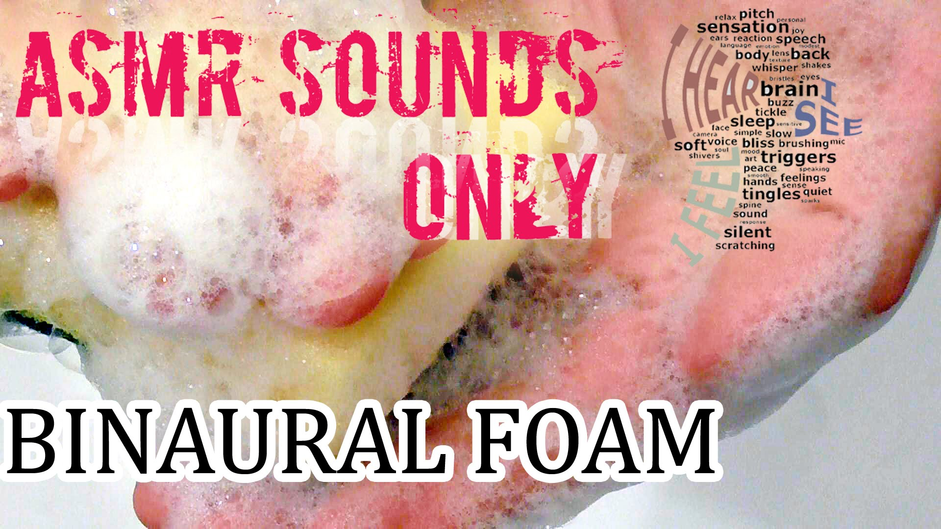 Binaural Foam Scratching Tapping Relaxing Session