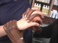 Kiehl's Hand Massage using Creams