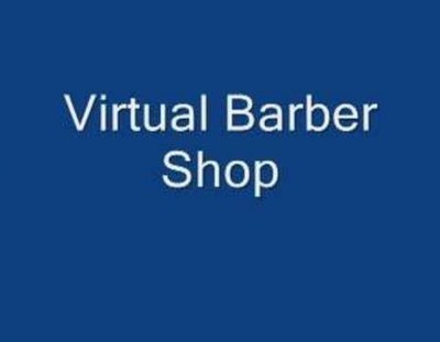 Virtual barber shop and haircut