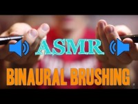 Binaural Brushing Video [Whisper][Brush][Male][Ear to Ear]