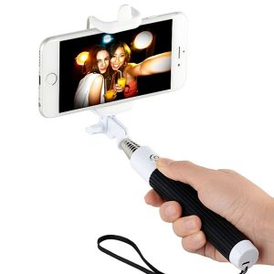 Selfie stick for watching asmr videos in bed