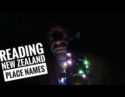 Reading Maori New Zealand Place Names in Scottish Accent.