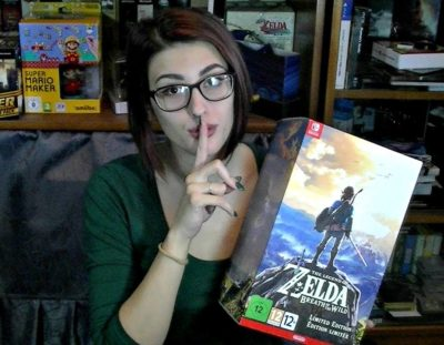 The Legend of Zelda: Breath of the Wild ~ ASMR ~ Unboxing of The Limited Edition (SWITCH)