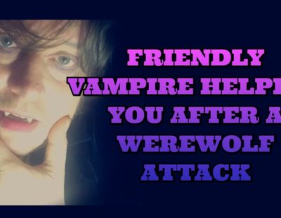 A friendly vampire helps you heal