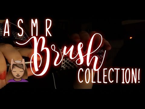ASMR Hairbrush Collection!