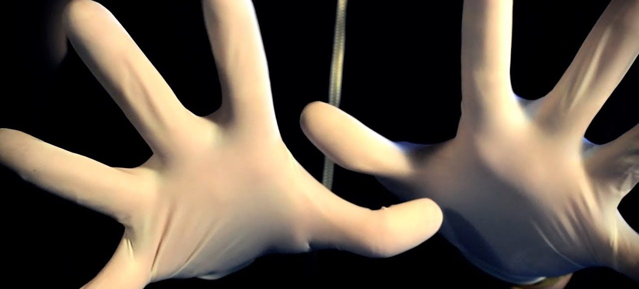 ASMR Rubber Latex Glove Sounds & Hand Movements! (Binaural)