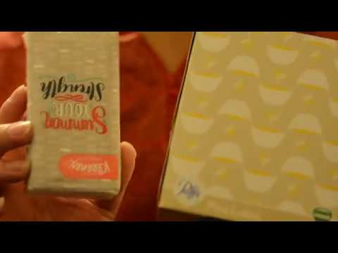 [ASMR] ~Kleenex and Tissue~ Crinkly, Ripping, and Tapping Trigger Sounds