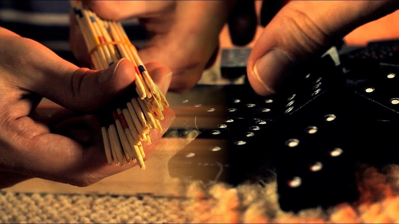 ASMR Mikado & Dominoes set! (Binaural)