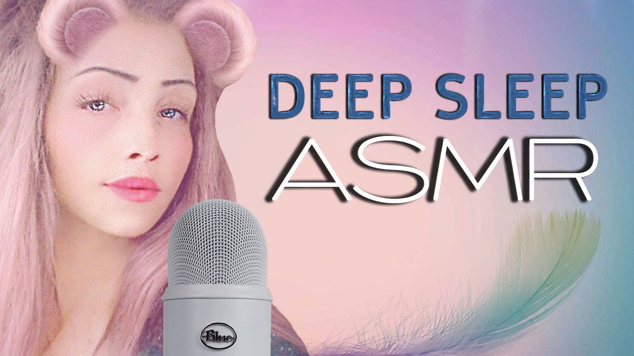 ASMR – my first video! deep sleep triggers and sounds