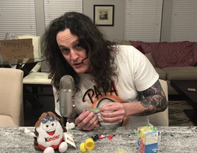 ASMR Kinder Egg Unboxing
