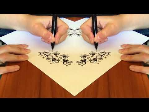 Hypnotic ASMR Drawing