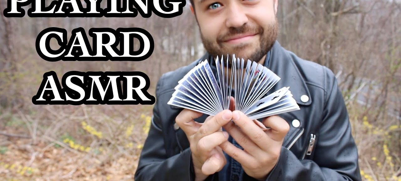 Playing Cards Cardistry ASMR Performed by Magician John Stessel