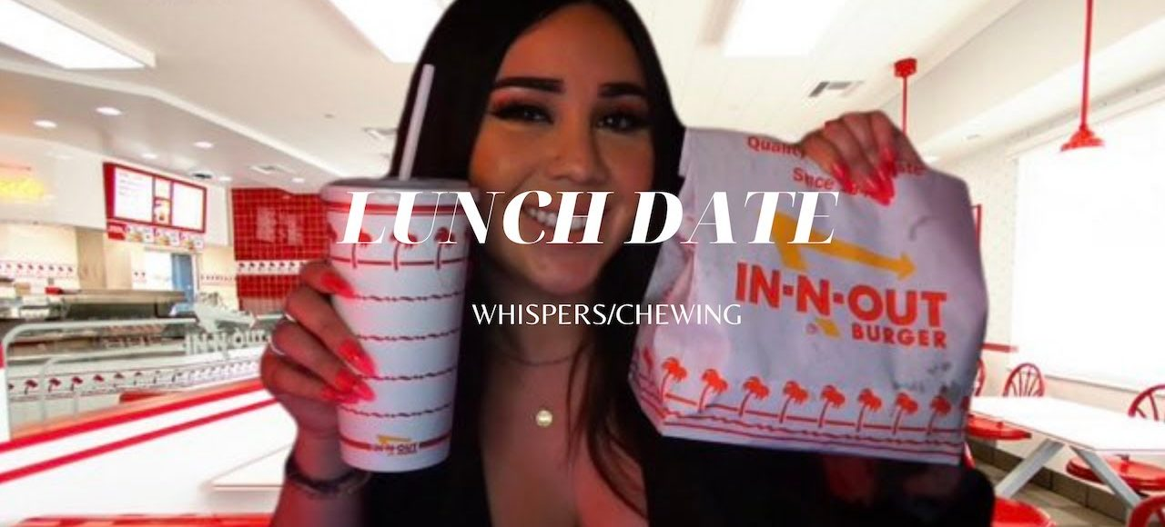 [ASMR] | Meeting you for lunch – Roleplay In n Out