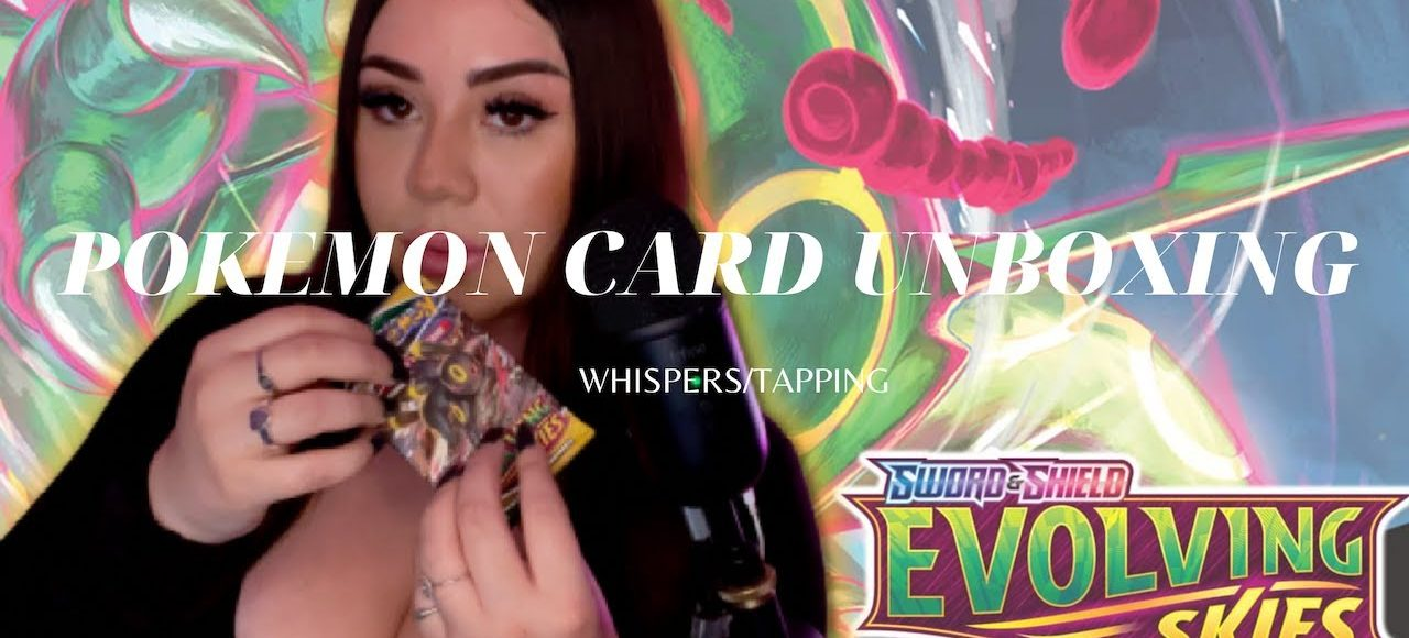 Pokemon Evolving Skies Booster Box Opening with YOU! Crinkles and Card Sounds!